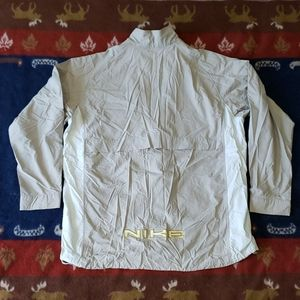 Nike Jackets & Coats - Nike Embroidered Spellout Windbreaker Mens Size XL